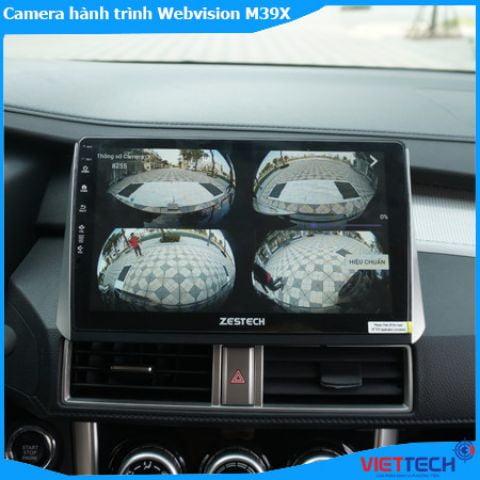Màn hình ô tô Zestech Z800+ 2 trong 1 tích hợp camera 360.