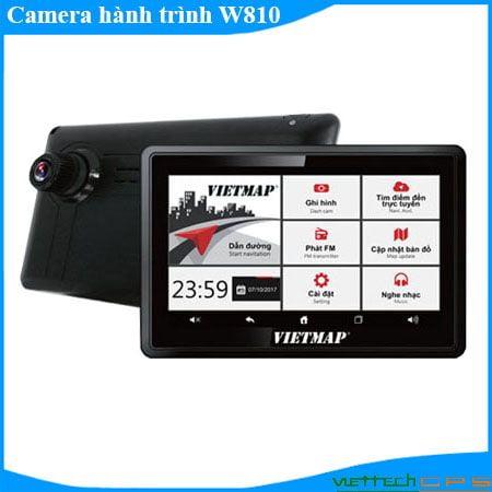 Camera hành trình W810 vừa ghi hình vừa dấn đường quay phía trước