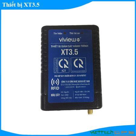 Thiết bị giám sát hành trình XT3.5 cho xe đăng kiểm, xin phù hiệu