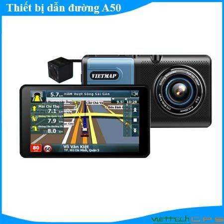 Camera hành trình A50 Ghi Hình Trước Sau dẫn đường thông minh