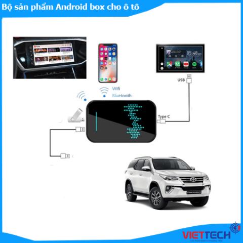Bộ chuyển đổi màn hình zin sang android carplay cao cấp