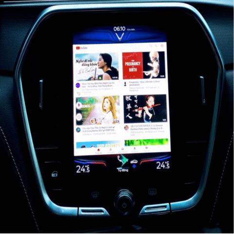 Android Box Cho Xe Vinfast Lux A, Lux SA Biến Màn Zin Thành Màn Thông Minh