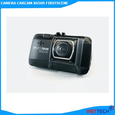 CAMERA HÀNH TRÌNH CARCAM X650S FIRSTSCENE GHI HÌNH CHUẨN HD