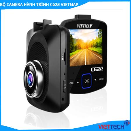 Camera Hành Trình C62S Vietmap Ghi Hình Trước Sau Ultra 4K Báo Tốc Độ