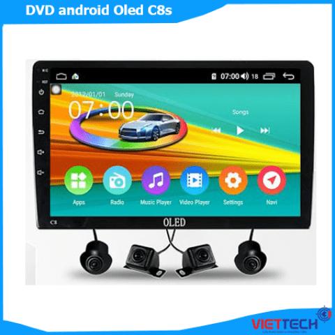 Màn hình DVD Android tích hợp camera 360 Oled C8s công nghệ mới nhất