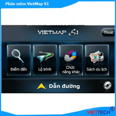 Bán Phần mềm Vietmap S1 Cho Dầu DVD Android Xe Ô Tô