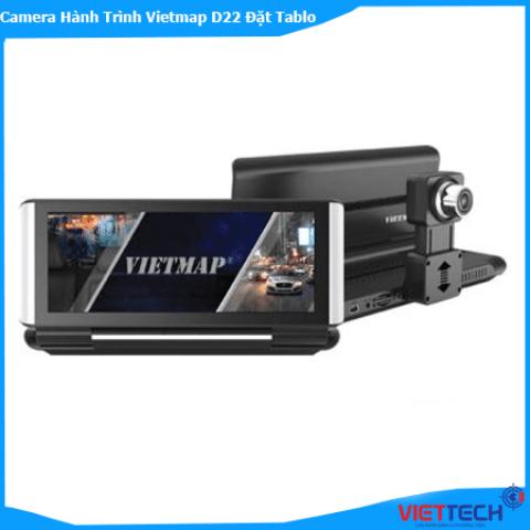 Camera Hành Trình Vietmap D22 Để Taplo, Báo Tốc Độ, GPS, Wifi Chỉ Đường