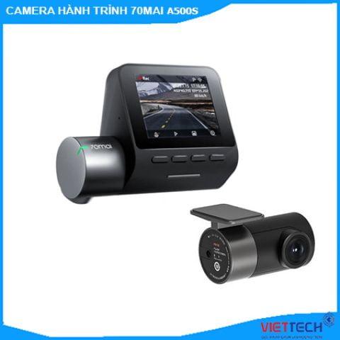 Camera hành trình Xiaomi 70mai A500S Ghi Hình Trước Sau Độ Nét 2,7K