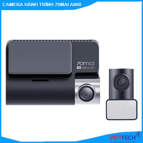 Camera hành trinh Xiaomi 70mai A800 Ghi Hình 2 Mắt Trước Sau