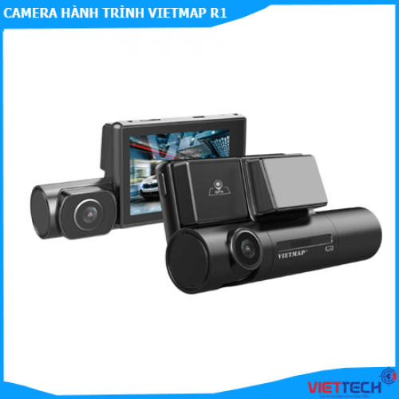 Camera hành trình VIETMAP R1 Cao Cấp Ghi Hình Trước Và Trong Xe