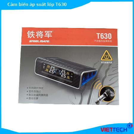 Cảm biến áp suất lốp Steelmate T630 màn năng lượng mặt trời