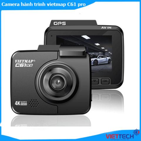 Camera hành trình Vietmap C61 Pro Video Nét 4k Báo Tốc Độ Wifi