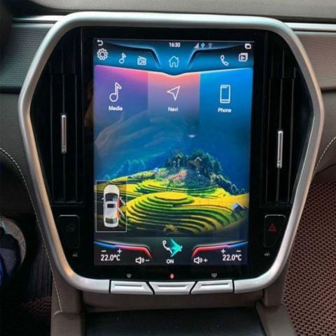 Apple Carplay cho màn hình DVD xe Vinfast Lux A và Lux SA
