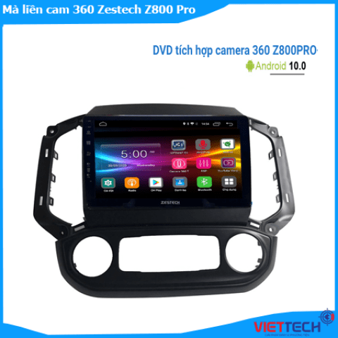 Màn hình liền camera 360 Zestech Z800 Pro cao cấp, tinh tế, chính hãng