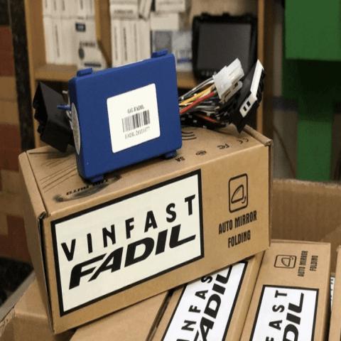 Gập gương lên xuống kính xe Vinfast Fadil tự động mới nhất