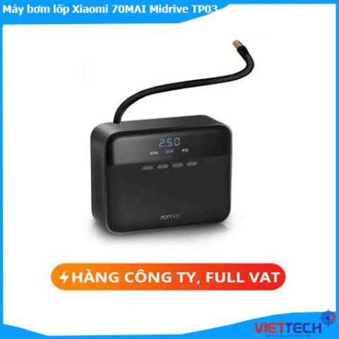 Máy bơm lốp xe ô tô Xiaomi 70mai TP03 giá rẻ giao toàn quốc