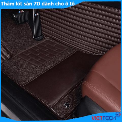 Thảm lót sàn xe 7D dành cho ô tô Cao Cấp - Sang Trọng - An Toàn