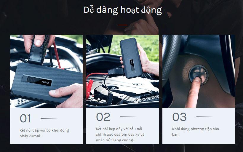 Hướng dẫn sử dụng PS06 kích bình ắc quy
